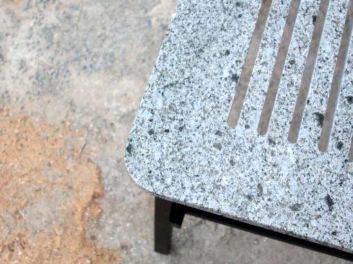 Table en Granit Maen – Marbrerie Bertin x Thomas Dellys
