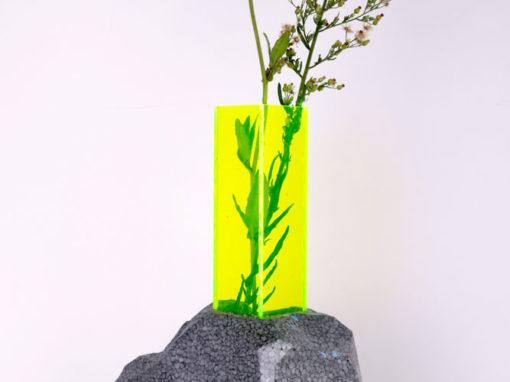 Série de Vases et Soliflores Vésuvio